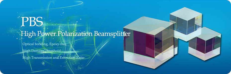 High Power Polarization Beamsplitter